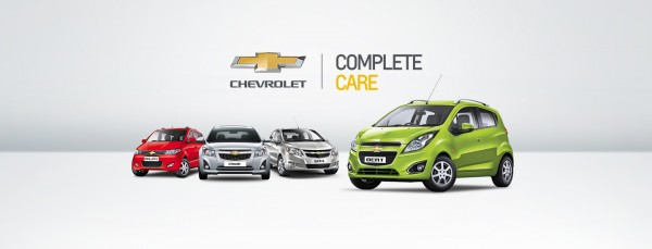 GM India Introduces Chevrolet Complete Care