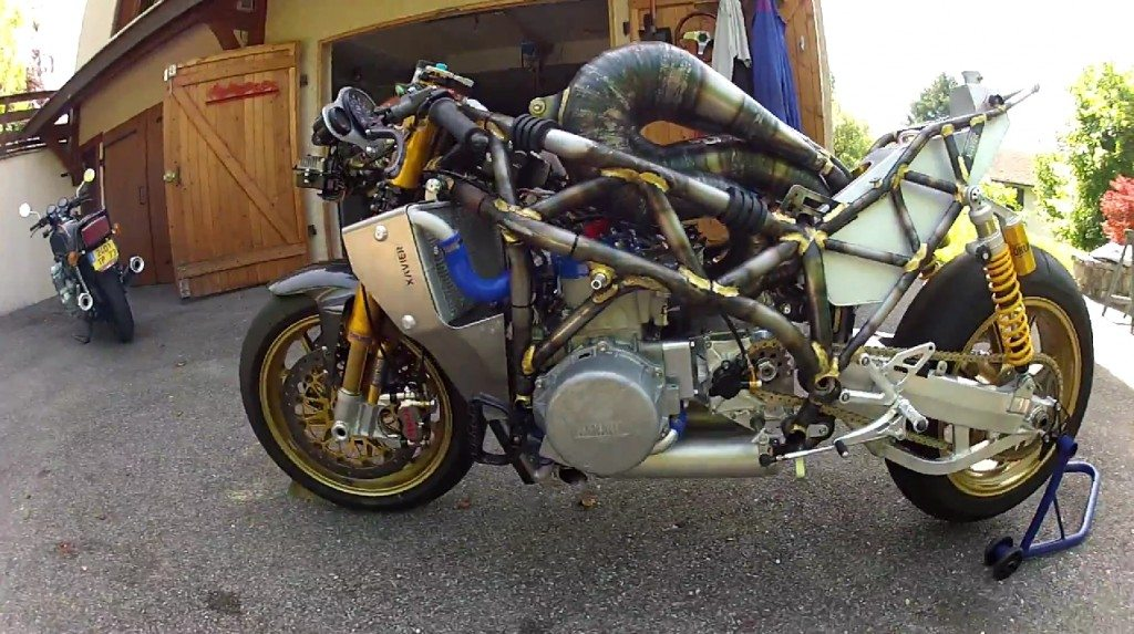 Hand Made 3 Cylinder 700cc Motorcycle