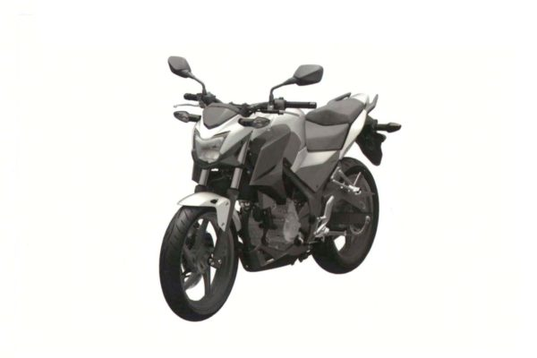 Honda CB300F Patent Images Leak
