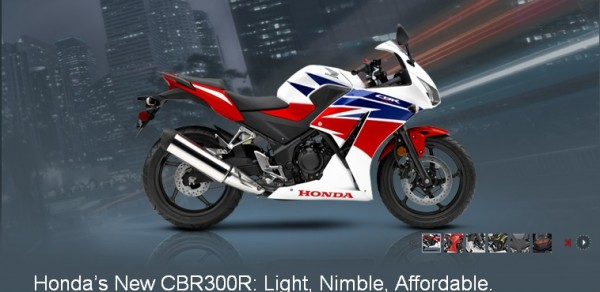 Honda CBR300R Price Announced in UK
