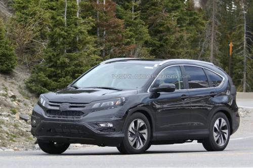 Honda CR-V facelift 2016 spotted for the first time