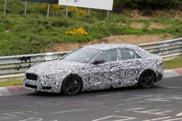 Jaguar XE Spy Pics
