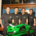 Kawasaki Unveils Five Models in South India