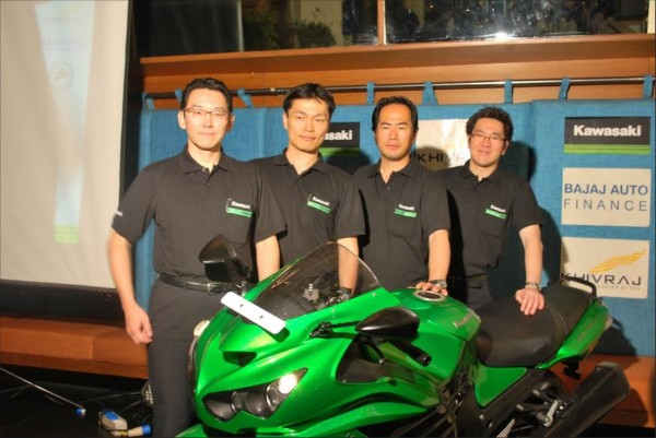Kawasaki Unveils Five Superbikes in South India