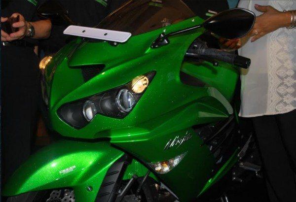 Kawasaki Unveils Superbikes in South India