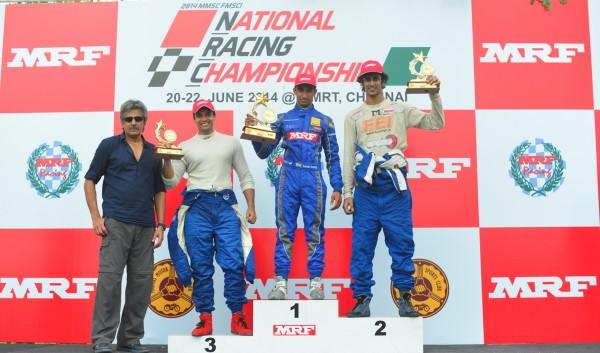 L to R TT Varadarajan, Siddharth Trivellore, Tarun Reddy, Advait Deodhar