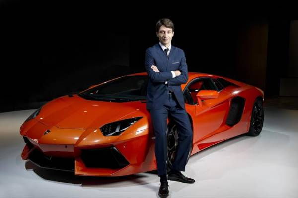 Lamborghini Asia Marketing Head - Andrea Baldi