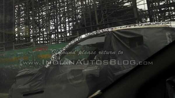 Mahindra S101 Spied Once Again in Chennai