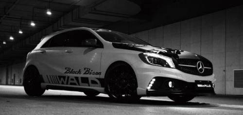 Mercedes-A-Class-Black-Bison-1