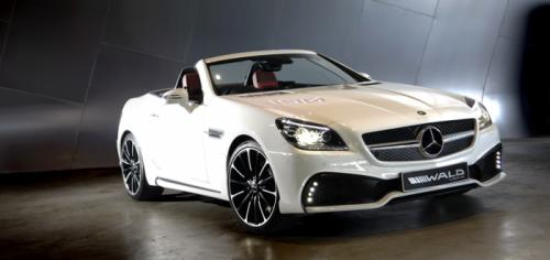 Mercedes-SLK-Black-Bison-Image-1
