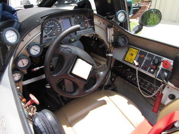 Motorcycle Jet cockpit