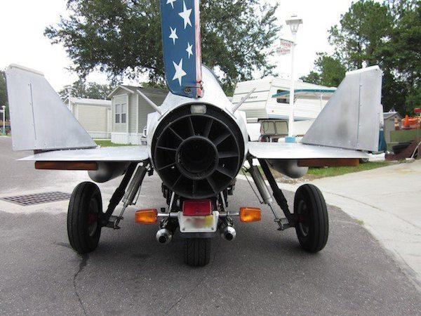 Motorcycle Jet exhaust