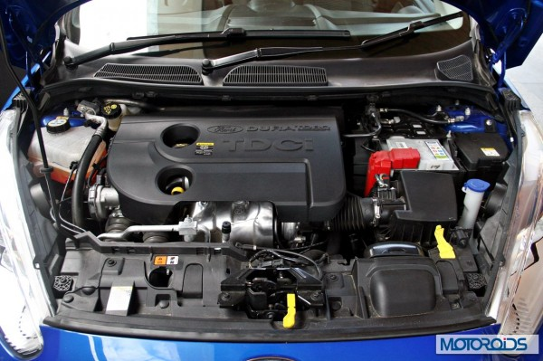New 2014 Ford Fiesta engine