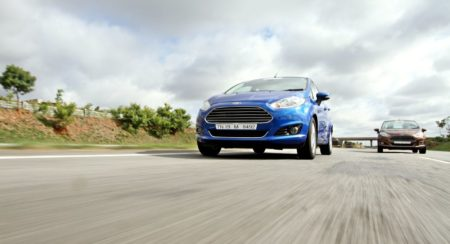 New 2014 Ford Fiesta facelift action (1)