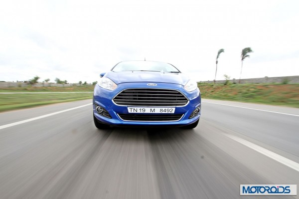 New 2014 Ford Fiesta facelift action (3)