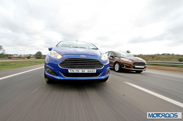 New 2014 Ford Fiesta facelift action (4)