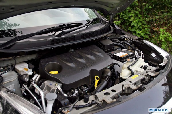 New 2014 Nissan Sunny Facelift engine