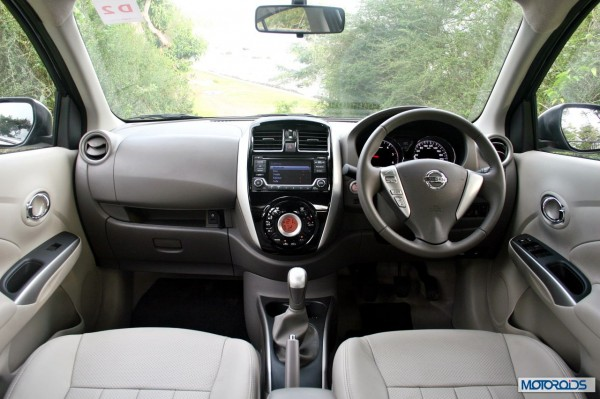 New 2014 Nissan Sunny Facelift interior (2)