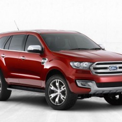 New 2015 Ford Endeavour teaser image released