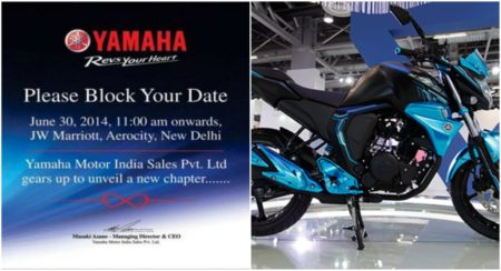 New Yamaha FZ 2015 series