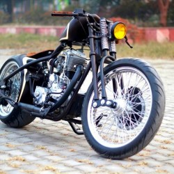 Meet Troy by Nino Custom Cycles: Yours for a cool 3.75 lakhs!
