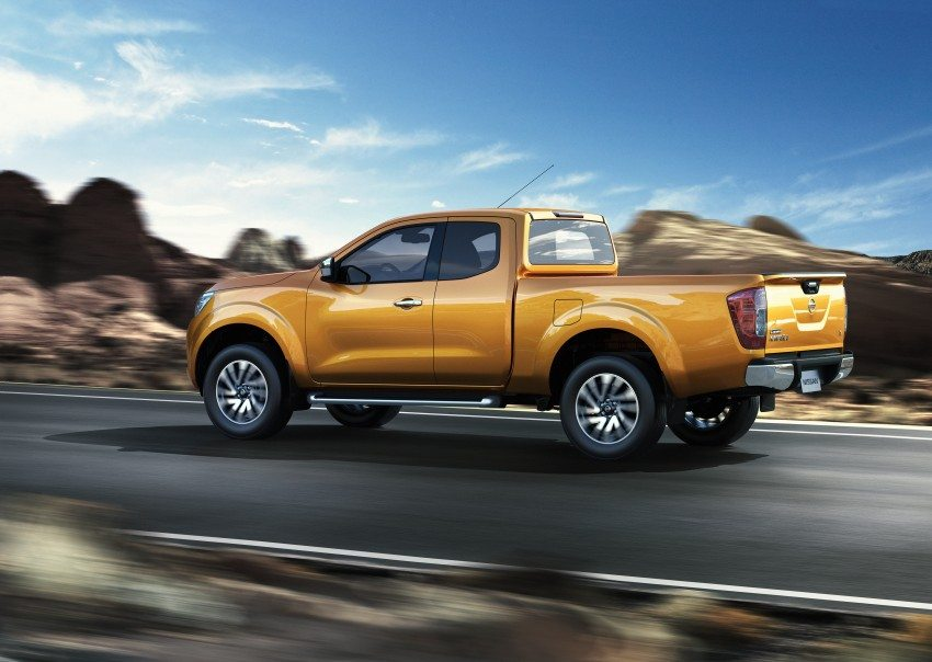 Nissan Navara Pickup Unveiled in Thailand   Motoroids