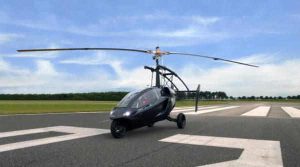 Pall V One is a Hybrid Car and Gyroplane