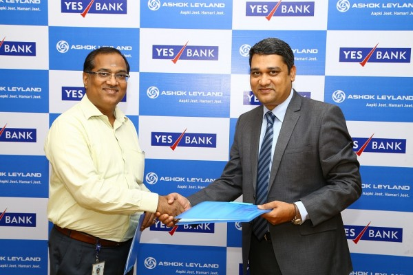 Ashok Leyland signs MoU with YES Bank for Vehicle Financing