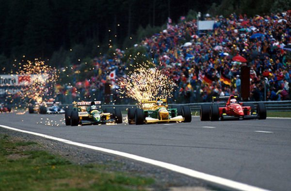 Sparking F1 Cars