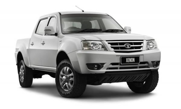 Tata Xenon Australia side front view image 4