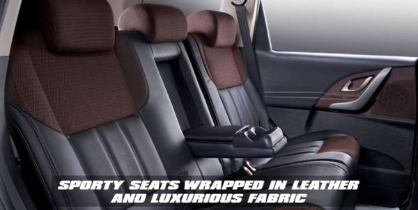 Xuv 500 Sportz leather seats