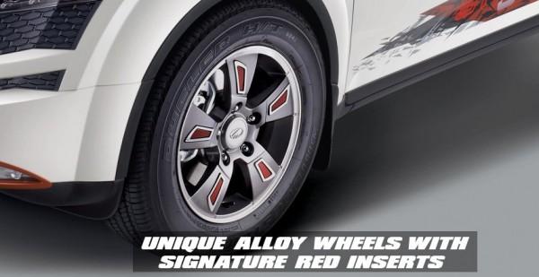 Xuv 500 Sportz wheels 2
