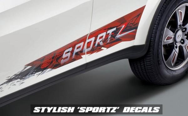 Xuv 500 Sportz wheels