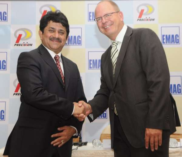 Yatin Shah, CMD- Precision Camshafts Limited & Dr. Andreas Mootz, MD- EMAG Automation, Germany_2
