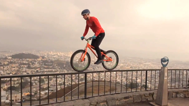 Video Danny Macaskill S Bicycle Brings Life To A Dead