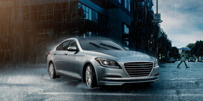 New Hyundai Genesis Slows You Down When It Spots A Speed