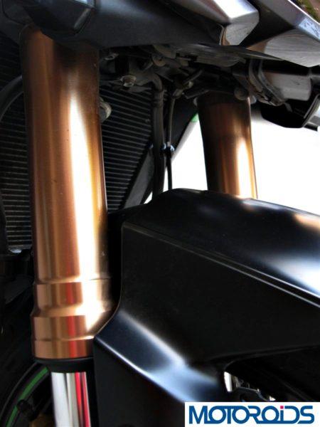 2014 Kawasaki Z1000 Showa Big Piston Forks