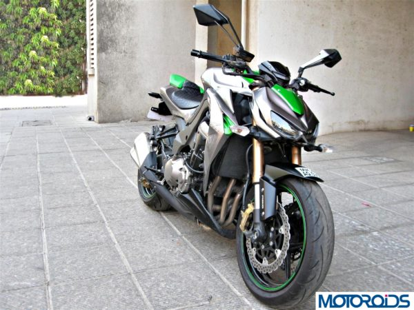 2014 Kawasaki Z1000 front