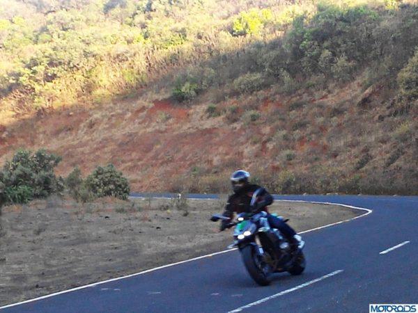 2014 Kawasaki Z1000 performance