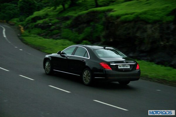 2014 S Class S350 CDI black Action (1)
