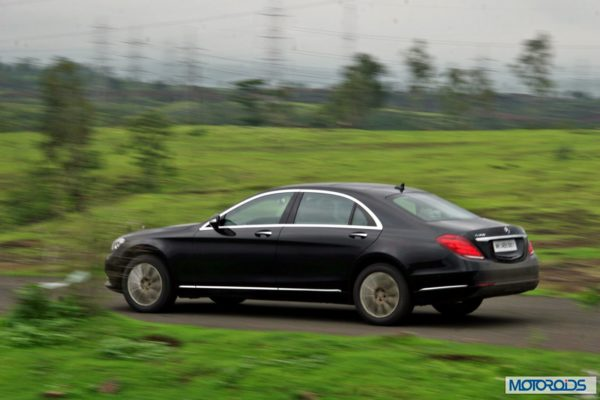2014 S Class S350 CDI black Action (5)