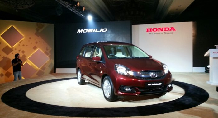 The New 2014 Honda Mobilio  Price  Variants  Accessories And Features Explained