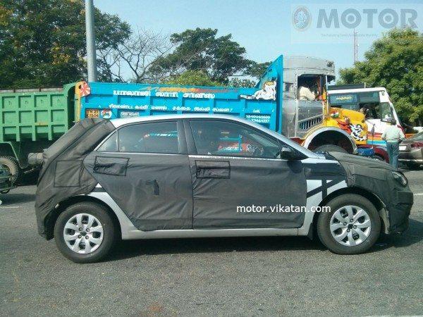 2015 Hyundai i20 Continues Testing in Chennai