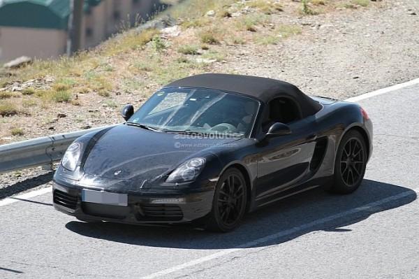 2016 Porsche Boxster Facelift Spied