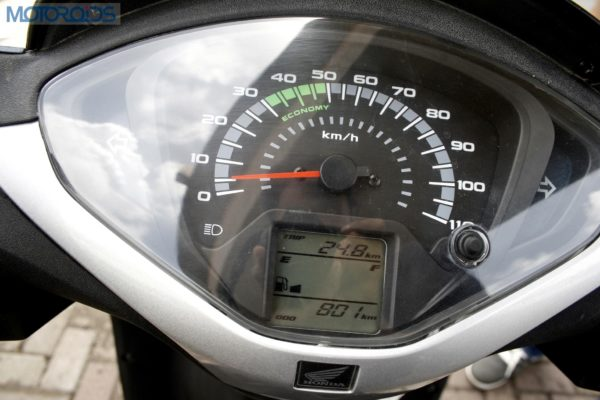 Analog cum digital Speedometer
