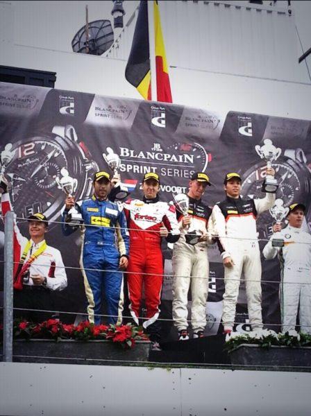 Armaan Ebrahim FIA GT series