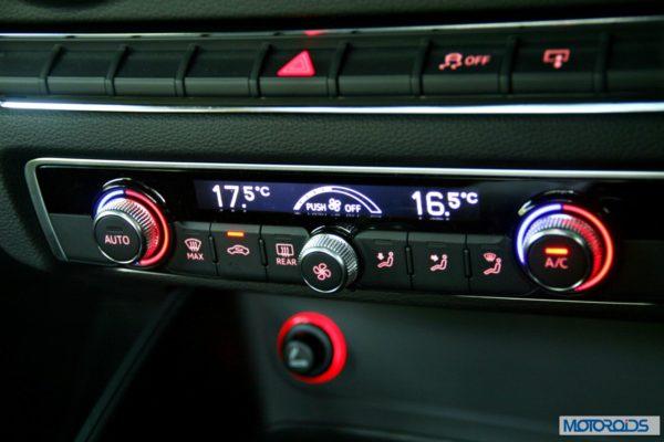 Audi A3 AC controls (2)
