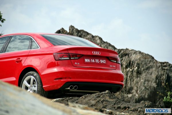 Audi A3 India review red (12)