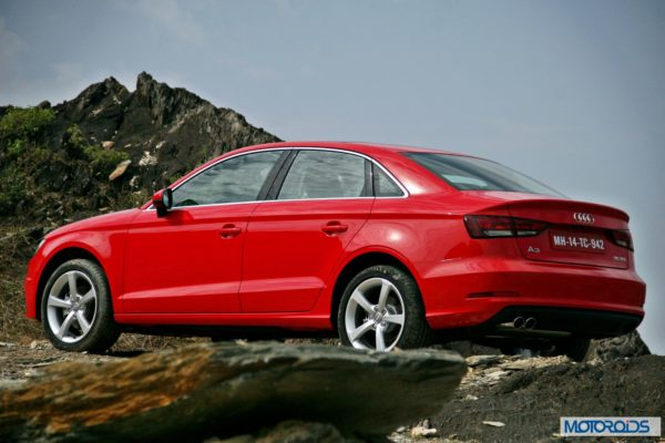 Audi A3 India review red (13)