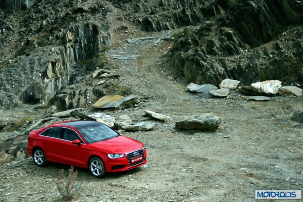 Audi A3 India review red (21)